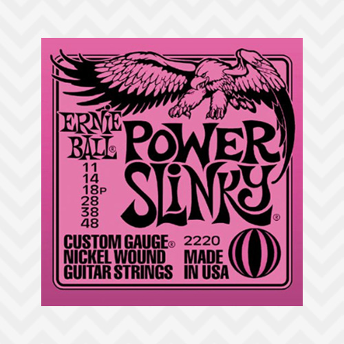 어니볼 NWE Power Slinky 011-048 / 2220 / ErnieBall Nickel Wound Electric / 일렉기타줄 / 일렉기타스트링