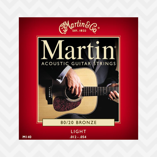 마틴 80/20 브론즈 M140 / Martin 80/20 Bronze M140 Light (012-054)